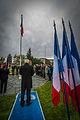 Strasbourg nécropole nationale de Cronenbourg cérémonie 1er novembre 2013 32.jpg