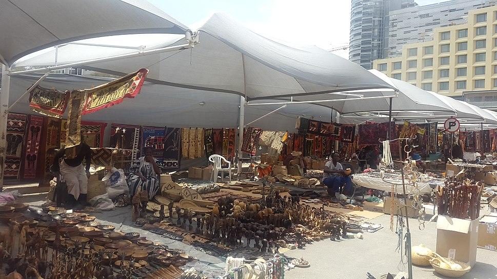 Street Market in Namibia - Windhoek