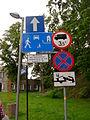 Street signs in Międzyzdroje, Poland.JPG