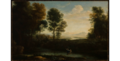Studio of Claude Lorrain - Landscape with Psyche Saved from Drowning Herself (L'Amour et Psyche), 1665-1670.png