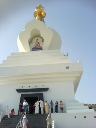 Religion in Spain - The Buddhist Benalmádena Stupa opened in 2003 in Andalusia is considered the largest in Europe.