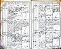 Subačiaus RKB 1827-1830 krikšto metrikų knyga 075.jpg