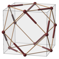 Subgroup of Oh; A4; example solid (cuboctahedron).png
