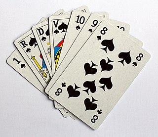 Brelan Card game