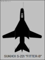 Sukhoi Su-22I top-view silhouette.png
