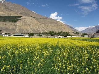 Shimshal Village in Gilgit Baltistan, Pakistan