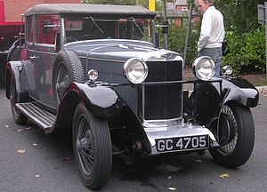 Louis Coatalen - 1930 Sunbeam 16 drophead coupé by James Young