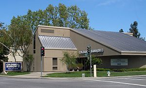 A Coldwell Banker High Country Realty office in Sunnyvale.