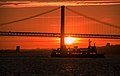 Sunset by the river Tagus (36202692782).jpg