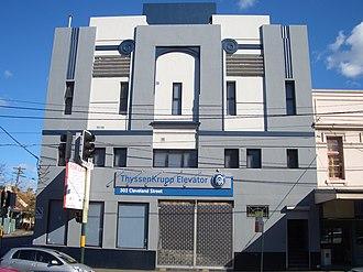 Cleveland Street, Sydney - Image: Surry Hills Cinema