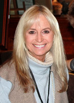 Susan George (actress) - George at Autographica held in London on 25 October 2008.