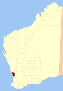 Swan Land District Cadastral in Western Australia