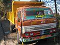 Swaraj Mazda dump truck, 2011.JPG