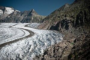 Jungfrau-Aletsch protected area - Aletsch Glacier