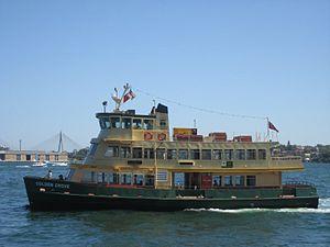 First Fleet-class ferry - Image: Sydney Ferry