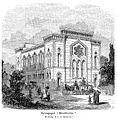 Synagogan i Stockholm 1881. The Synagogue in Stockholm 1881..JPG