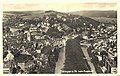 Tübingen von Westen vom Flugzeug (AK 541.10 Gebr. Metz).jpg