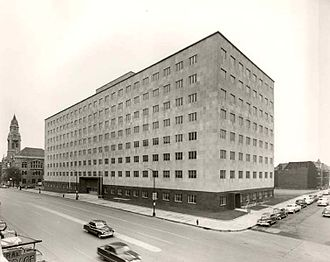 Estes Kefauver Federal Building and United States Courthouse - Photo from 1952