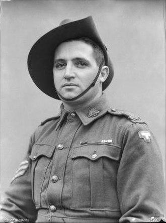 Tom Derrick - Sergeant Tom Derrick in June 1944