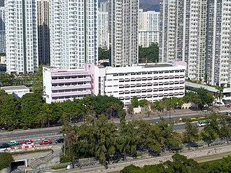 Tai Po New Town - Tai Po Government Secondary School, Tai Po Civic Centre and private housing estates Tai Po Centre and Fortune Plaza