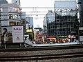 Takeshita Exit of Harajuku Station looking toward Takeshita Street 竹下通り from platform.jpg