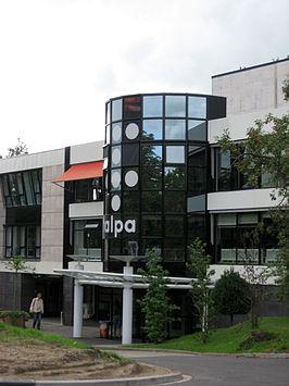 Een kantoor van Talpa (later Tien) op het Mediapark in Hilversum