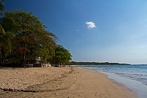 English: Tamarindo Beach, Guanacaste, Costa Ri...