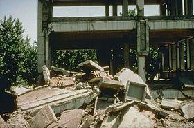 Illustrasjonsbilde av artikkelen Tangshan jordskjelv 1976