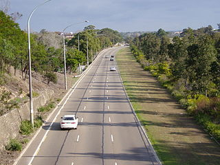 Taren Point Road road in New South Wales