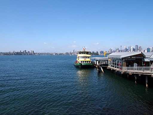 Taronga Zoo - arriving by ferry