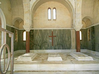 Tatoi Palace - Tombs of Constantine I, Sophia of Prussia and Alexander
