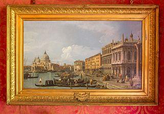 Le Grand Canal, la Piazzetta and la Douane de mer, Venise