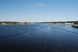 Taunton River from Veterans Memorial Bridge.JPG