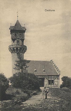 Burg Teck - Teckturm1