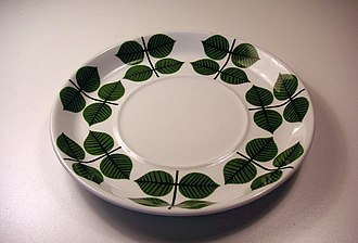Gustavsberg porcelain - Image: Teefat 2007