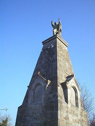 Bartholomew Teeling - The Teeling Monument near Colloney, County Sligo.