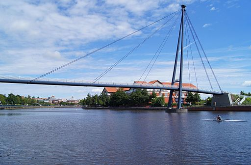 Teesquay Millennium Footbridge, Stockton on Tees