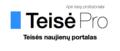 Teise.pro logotipas.png