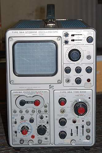 Cathode-ray tube - The Tektronix Type 564: First Mass Produced Analog Phosphor Storage Oscilloscope