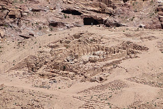 Temple of the Winged Lions Temple complex located in Petra, Jordan