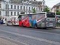 Teplice, Benešovo náměstí, autobusy 616 a 443.jpg