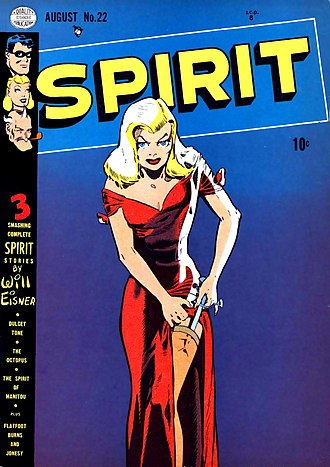 Portrayal of women in American comics - The Spirit, volume 1, number 22, August 1950. Artwork by Will Eisner.