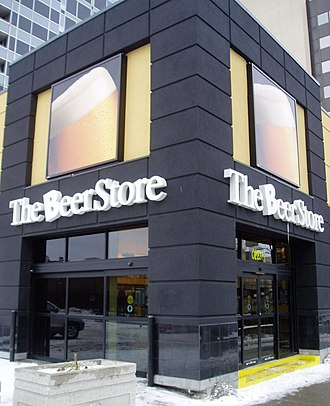 The Beer Store - A Beer Store shop.