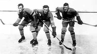 New York Rangers - The Bread Line was the Rangers' first notable line. Consisting of Bill Cook, Bun Cook and Frank Boucher, they played together from 1926 to 1937.