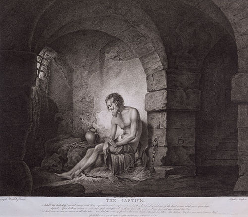 """The Captive"", an engraving by Ryder, after Joseph Wright The Captive after Joseph Wright by Thomas Ryder.jpg"