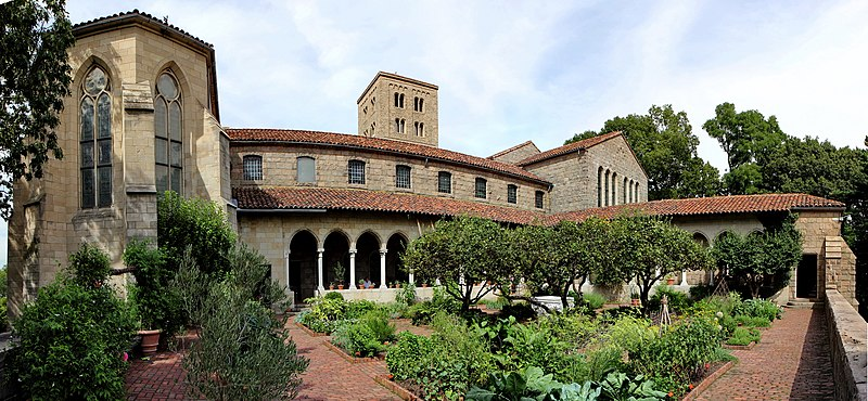 File:The Cloisters from Garden.jpg
