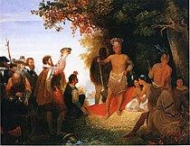 210px The Coronation of Powhatan John Gadsby Chapman