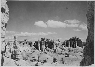 George A. Grant - Image: The Fairy Temple Group. Lot's Wife, Seal Castle, and Fairy Temple. NARA 520265