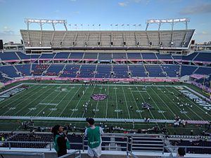 2016 Cure Bowl - The field prior to kickoff