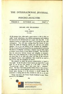 The International Journal of Psycho-Analysis III 1922 3.djvu